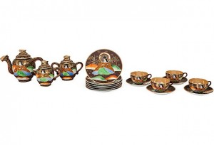 good example of satsuma tea set